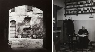 Virgilio Carnisio (1938) - Milano, 1969 - Two vintage gelatin silver prints - 10.9 [...]