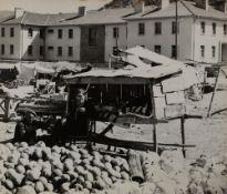 Federico Patellani (1911-1977) - Untitled (Market, Turkey), years 1950 - Vintage [...]