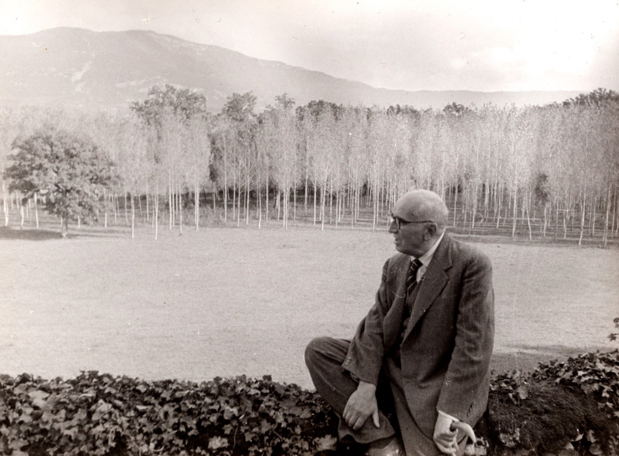 Henri Cartier-Bresson (1908-2004) - Paul Claudel, years 1940 - Two vintage gelatin [...] - Image 3 of 3