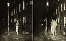 Anonimo - London Prostitution, 1954 - Two vintage gelatin silver prints - Each 9.9 x [...]
