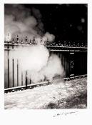 René-Jacques (1908-2003) - Place de l'Europe, Paris, hiver , 1945-1946 - Gelatin [...]