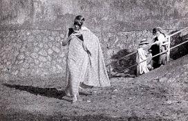 Jacques-Henri Lartigue (1894-1986) - Marthe au bain, 1916 - Gelatin silver print, [...]