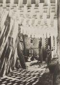 George Rodger (1908-1995) - Wool Suq in Tunis, 1958 - Platinum print, printed later [...]