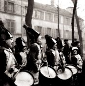Robert Doisneau (1912-1994) - Untitled (Musical band), Years 1940 - Gelatin silver [...]
