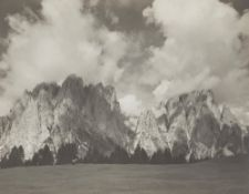 Fratelli Pedrotti (XX sec.) - Dirupi di Larsec (Catinaccio), years 1930 - Vintage [...]