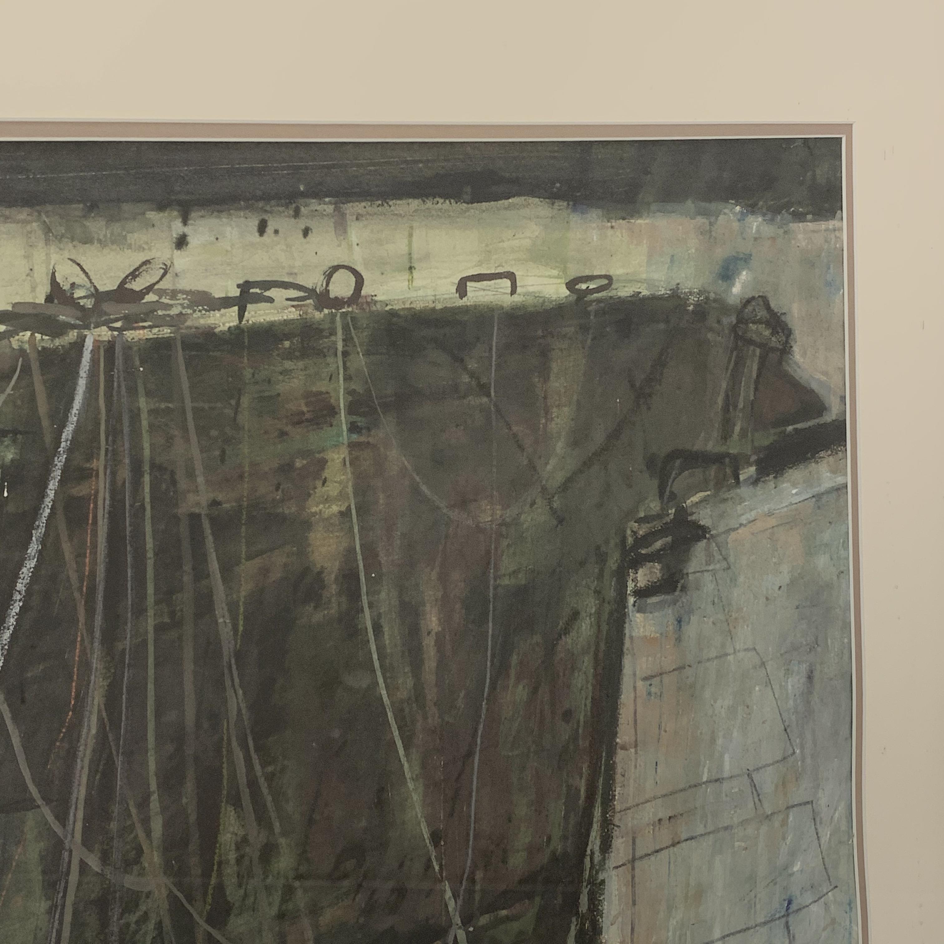 George Devlin (Scottish 1937-2014): Boats at Port-Vendres, pastel signed, 53cm x 71cm, UK mainland - Image 3 of 3