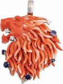 Korallen-Anhänger