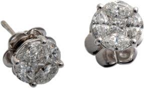 Diamantohrstecker