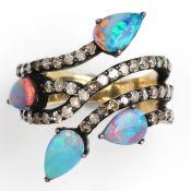 OPAL - DIAMOND - RING