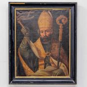 Painting of a saint, painted with a whip, Oil/canvas, 18th century Length: 0 cm , Width: 74 cm,