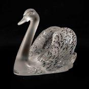 Crystal Swan, Lalique, France Length: 30 cm , Width: 20 cm, Hight: 24 cm, Diameter: 0 cm