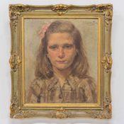 Jef VAN DE FACKERE (1879-1946)Jef VAN DE FACKERE (1879-1946), Portrait, oil/panel Length: 0 cm ,