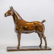 Georges MALISSARD (1877-1942)Georges MALISSARD (1877-1942), Bronze statue of a horse Length: 45 cm ,