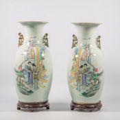 Paar chinese Vazen