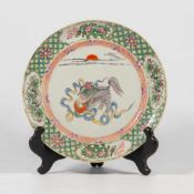 Chinese display plate
