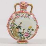 Chinese Vase: 'Moon flask'
