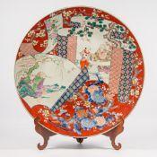 Large Japanese display plate