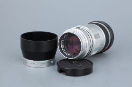 A Leitz Elmarit f/2.8 90mm Lens,