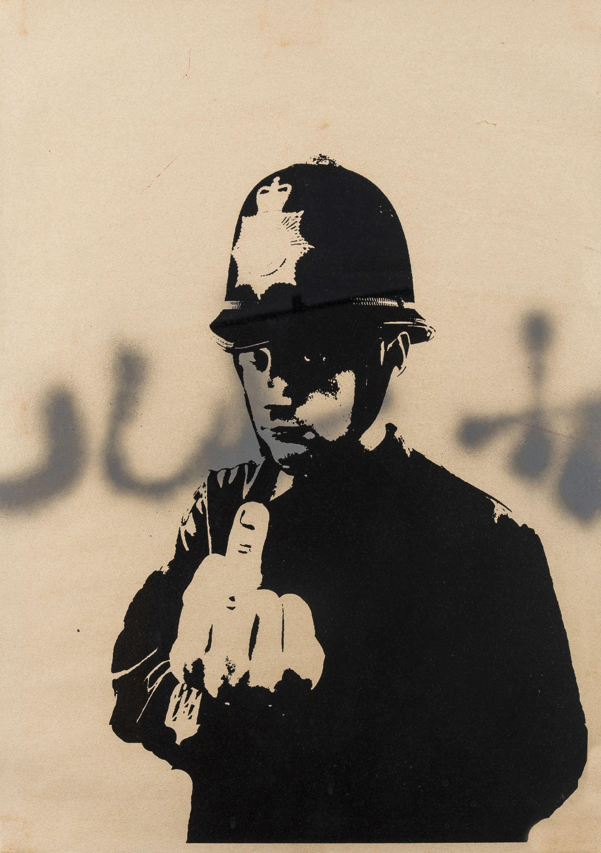Lot 266 - Banksy (b.1974) Rude Copper
