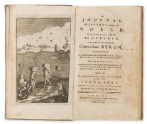 Voyages.- [?Clerke (Charles)] A Journal of a Voyage round the World, in His Majesty's Ship the …