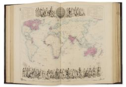 Atlases.- Swanston (George H.) The Companion Atlas to the Gazetteer of the World, Edinburgh, …