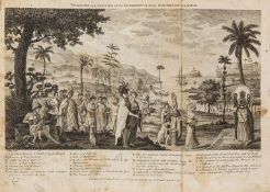 South Seas.- New Discoveries concerning the World, and its Inhabitants, first edition, 1778 & …