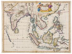 Asia.- East Indies.- Speed (John) A New Map of East India, [1676].