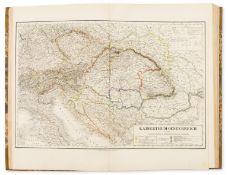 Atlases.- Kiepert (Dr. H.) C.Graf, A.Graf & Dr.C.Bruhns. Hand-Atlas der Erde und des Himmels, …
