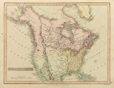 Atlases.- Smith (Charles) Smith's New General Atlas, 45 hand-coloured engraved maps, C.Smith, 1808.