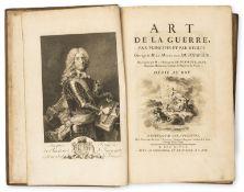 Military.- Puysegur (Jacques Francois Chastenet de) Art de la Guerre, par Principes et par Regles, …