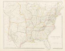 Atlases.- Sharpe (John) Sharpe's Corresponding Atlas, [?1849].
