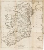 Ireland.- Taylor (George) and Andrew Skinner. Taylor and Skinners's Maps of the Roads of Ireland, …
