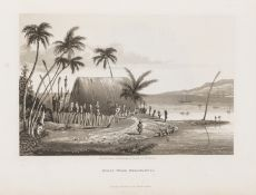 South Seas.- Byron (Capt. George Anson, Lord) Voyage of H.M.S. Blonde to the Sandwich Islands in …