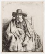 Rembrandt van Rijn (1606-1669) Clement de Jonghe, Printseller