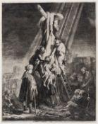 Rembrandt van Rijn (1606-1669) The Descent from the Cross: Second Plate