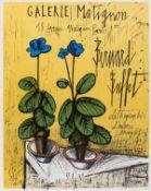 Bernard Buffet (1928-1999) Affiche pour Galerie Matignon