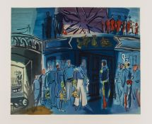 Raoul Dufy (1877-1953) Reception, from a Drawing of Constantine Guys by Raoul Dufy