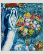 Marc Chagall (1887-1985) after. Bridal Bouquet