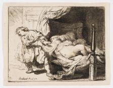 Rembrandt van Rijn (1606-1669) Joseph and Potiphar's Wife
