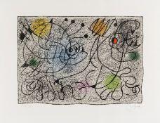 Joan Miró (1893-1983) Lithographie pour le International Rescue Committee (Mourlot 391)