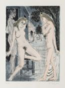 Paul Delvaux (1897-1994) Sept Dialogues avec Paul Delvaux (Jacob 76-80)