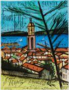 Bernard Buffet (1928-1999) Affich pour Galerie Maurice Garnier, St. Tropez