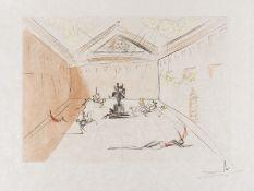 Salvador Dali (1904-1989) Plaza Mayor (Field 73-11)