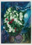 Marc Chagall (1887-1985) after. Bouquet