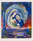 Marc Chagall (1887-1985) after. Le Songe