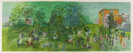 Raoul Dufy (1877-1953) Ascot