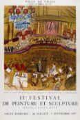 Raoul Dufy (1877-1953) 11me Festival de Peinture et Sculpture