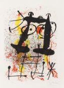 Joan Miró (1893-1983) Haï-Ku (See Cramer 118)