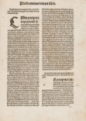 Bartholomaeus Anglicus. De proprietatibus rerum, Strasbourg, [Printer of the 1483 Jordanus de …