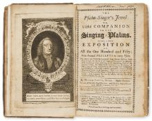 Music.- Tans'ur (William) The Psalm-Singer's Jewel, first edition, for S. Crowder, 1760; and 3 …